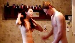 Attractive and turned-on pubescent hottie showed off her creature and seduced her horny guy